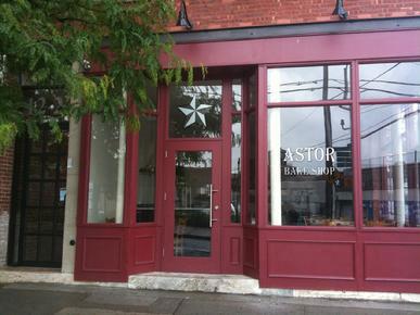 Astor Bake Shop Exterior