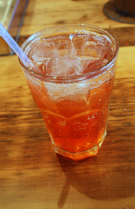 quince soda at the queens kickshaw