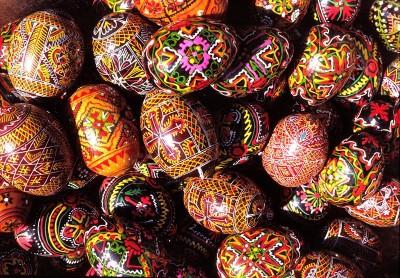 easter eggs greece