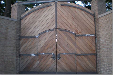 Famous Beer Garden Gates