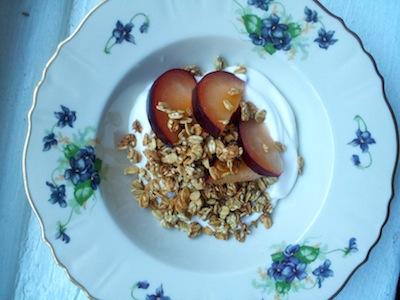 sesame-cardamom-granola-with-orange-blossom-yogurt