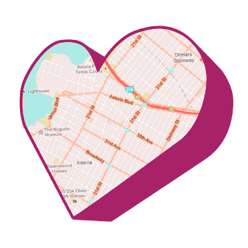 We Heart Astoria HEART