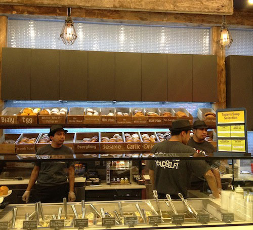 bagels-cream-cheese-ny-bagel-coffee-astoria-queens