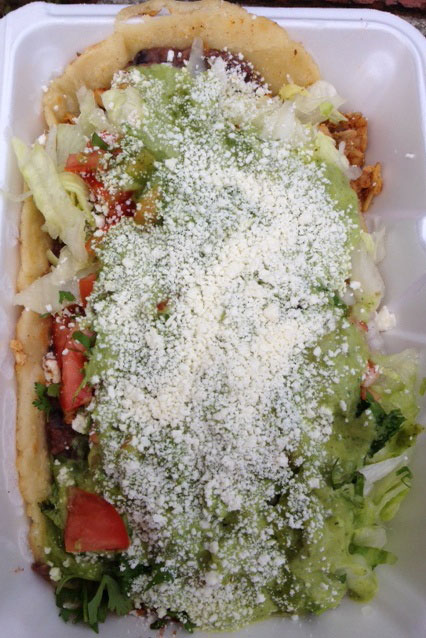 huarache from el rey del taco astoria queens