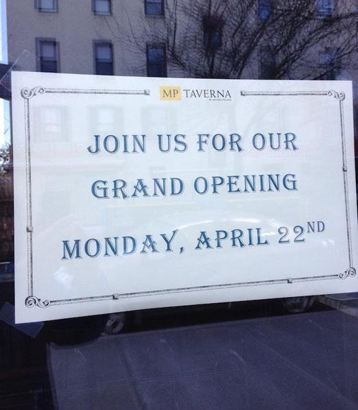 mp-taverna-opening-sign-ditmars-astoria-queens