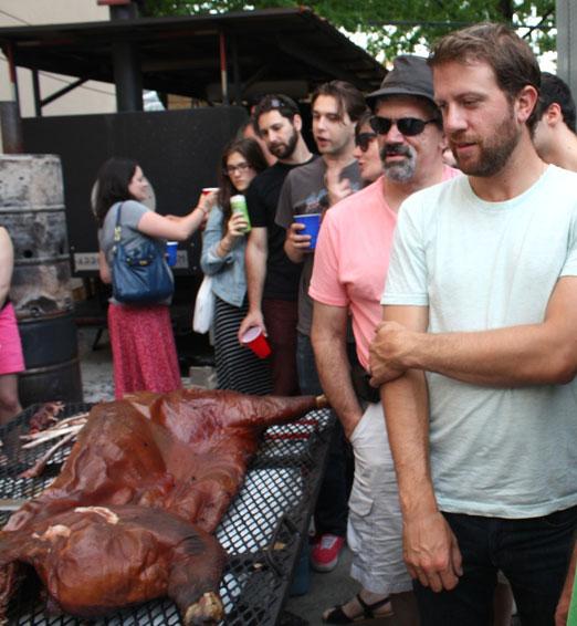 onlookers-hog-days-of summer-arrogant-swine-lic-queens