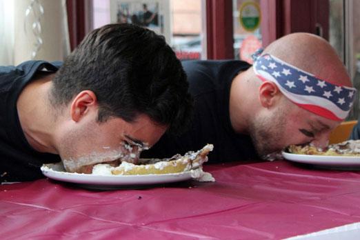 astor bake shop pie eating contest