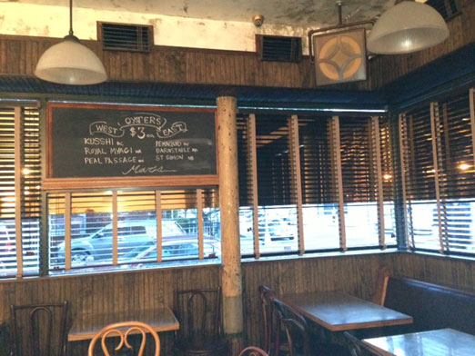 Mar's oyster bar