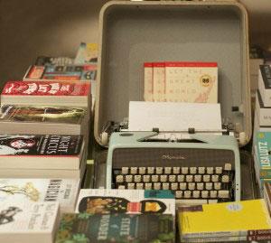 Astoria Bookshop_front fiction display