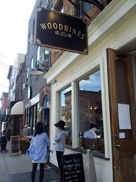 woodbines exterior