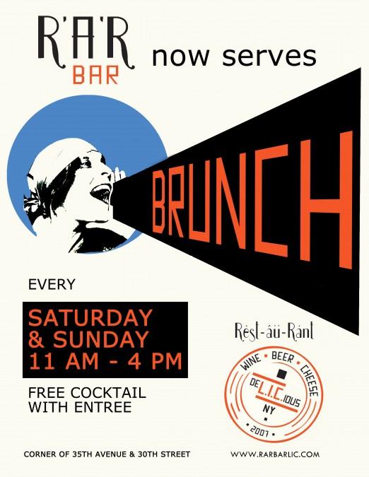 RaR Bar_Brunch poster