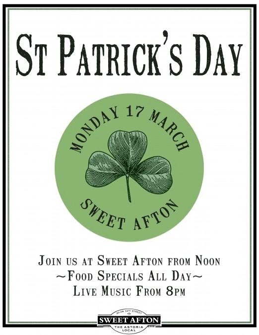 St. Patrick's 2014-Sweet Afton