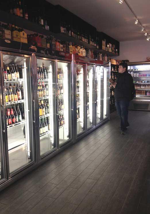refrigerated-beer-bottles-case-astoria-bier-cheese-ditmars-astoria-queens