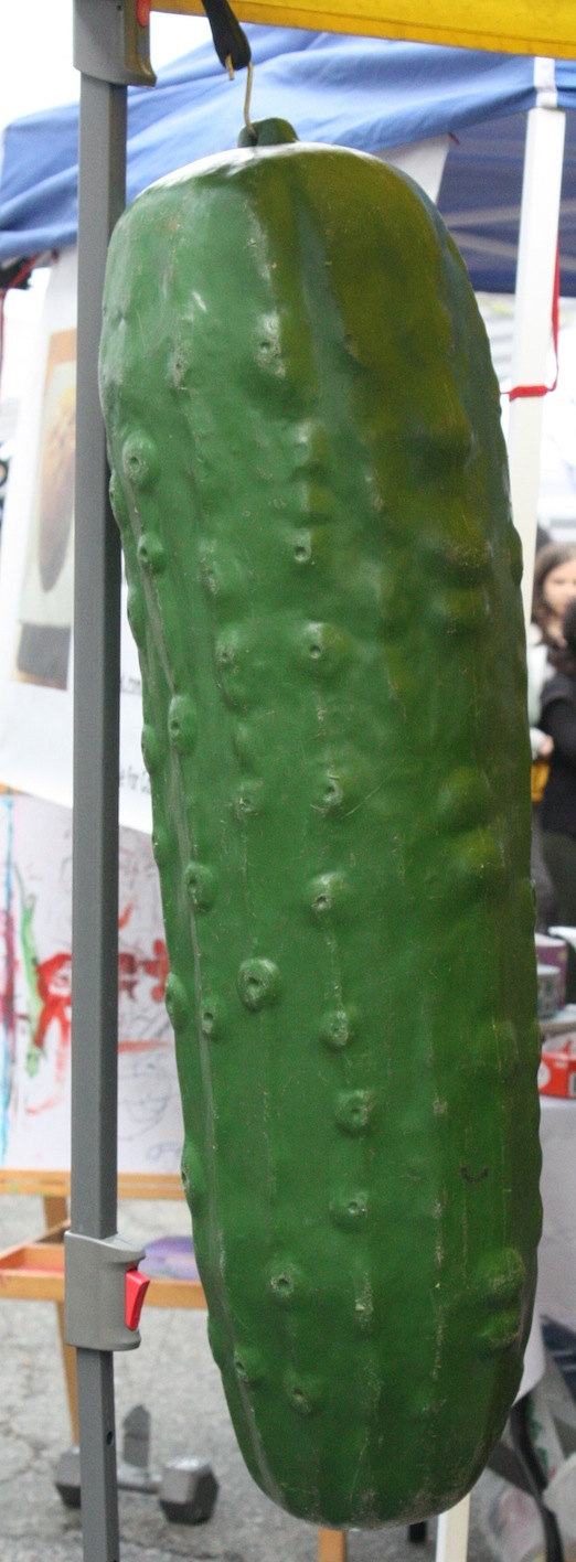 giant-pickle-hormans-pickles-astoria-flea-queens
