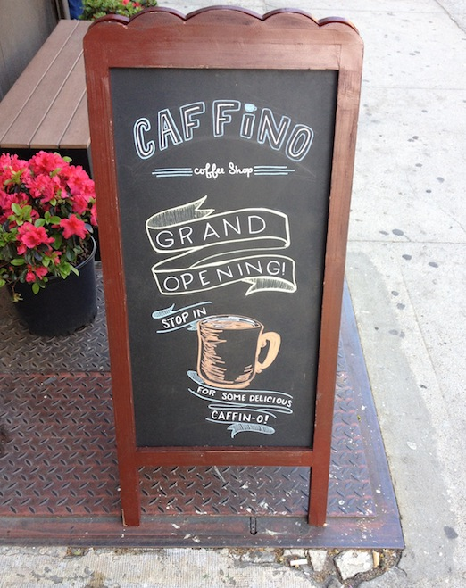 sandwich-board-sign-caffino-astoria-queens