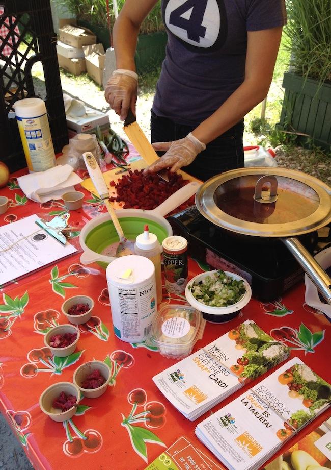 cooking-demo-greenmarket-socrates-sculpture-park-astoria-queens