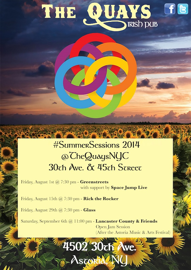 Quays Poster SummerSessions