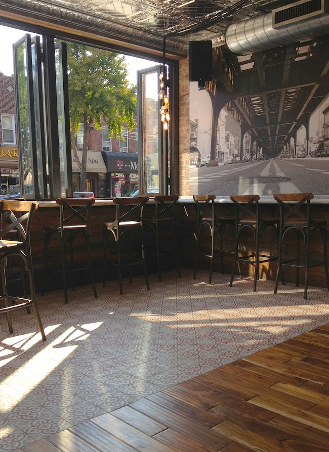 front-seating-area-stools-60-beans-astoria-queens