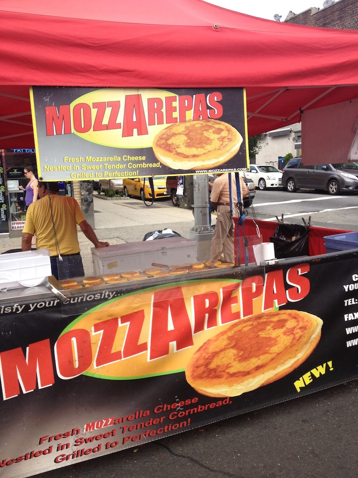 mozzarepa-30th-avenue-street-fair-september-1-labor-day-astoria-queens