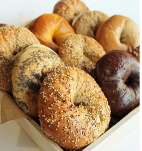 Bagels from Brooklyn Bagel & Coffee Company