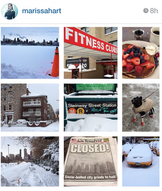Snow Day Instagram_Collage