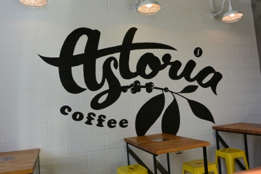 Astoria Coffee Interior