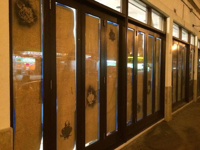 backlit-windows-stenciled-bareburger-old-athens-cafe-space-astoria-queens