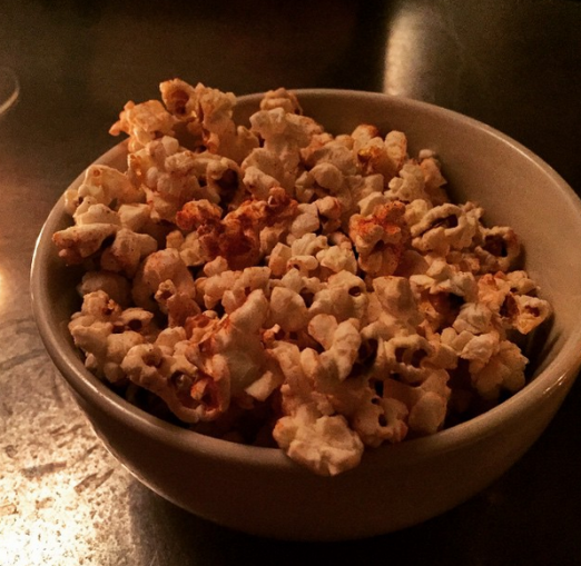A spicy & sweet start to the evening: Li Hing Mui Popcorn