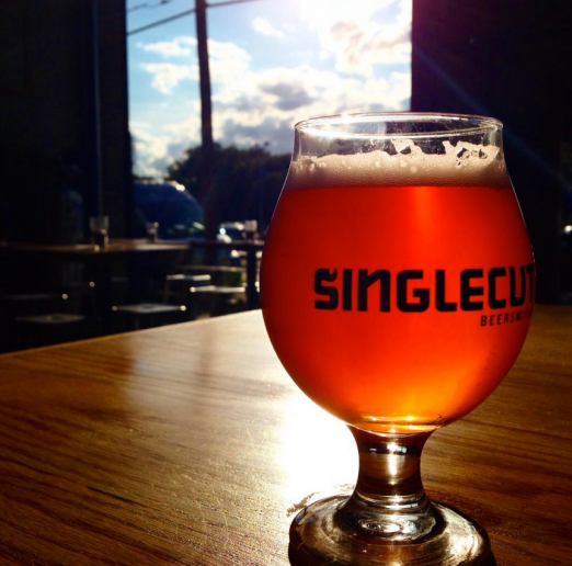 Singlecut Beersmiths, local beer at its finest.