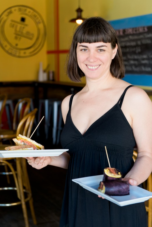 Tina from R'A'R Bar serves up some of the best drinks and bites in the neighborhood!