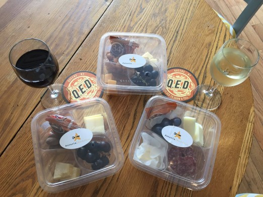 Wine and cheese are a perfect pair, and go perfectly with Q.E.D.'s performance lineup!
