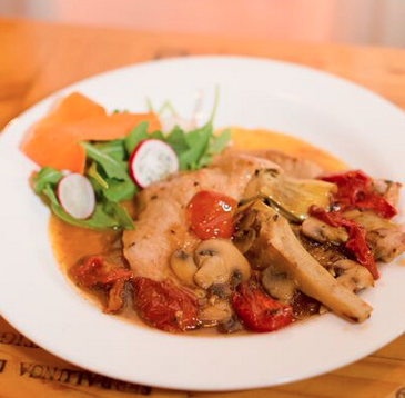 sac's-place-coal-oven-pizza-italian-restaurant-astoria-queens-veal-artichokes-pinot-grigio-sauce