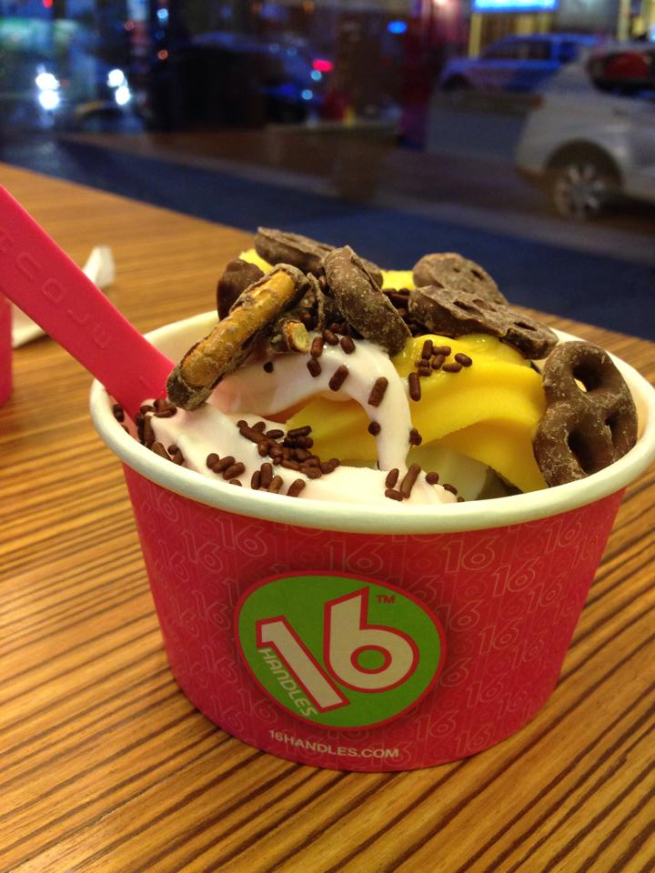 It's 16 o'clock, all the time. Photo Taken from 16 Handles' Facebook page