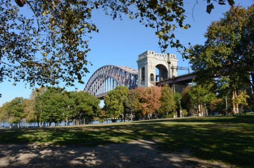 A stroll through Astoria Park on a sunny day is hard to beat.
