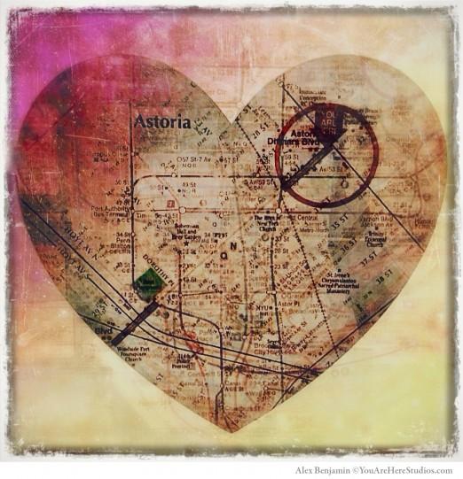 LIC Flea_Heart Print