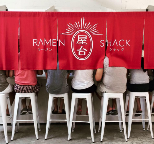 Step into the Shack! Photo Credit: Ramen Shack's Facebook Page