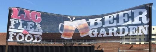 LIC Flea_Beer Garden