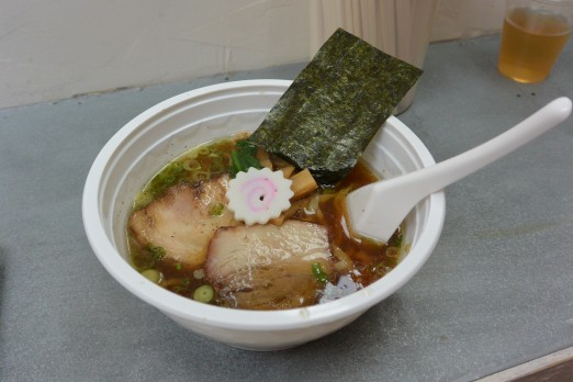 Lunch from Ramen Shack. I miss Smorgasburg!