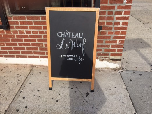 sign-chateau-le-woof-pet-market-and-cafe-astoria-dog-cafe-we-heart-astoria-pups-queens-30th-ave