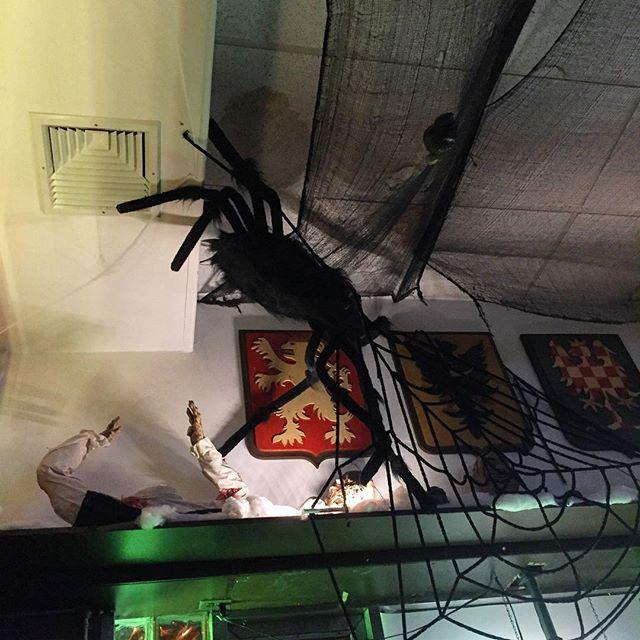 bohemian-hall-giant-spider-halloween-ditmars-astoria-queens