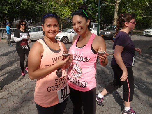 This time I'm ready to run...and eat! Photo Courtesy of NYC Cupcake Run