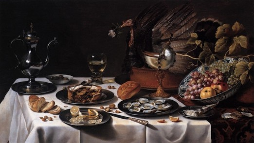 brunch-Still_Life_with_Turkey_Pie_1627_Pieter_Claesz