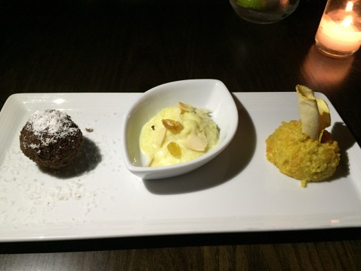 A trio of fantastic desserts