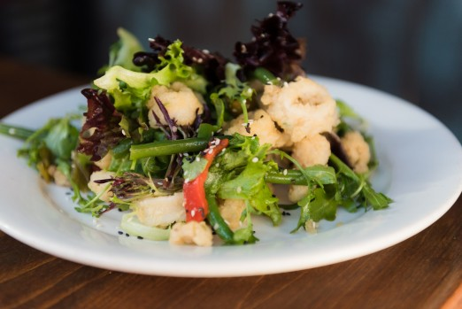 fried-calamari-salad-off-the-hook-we-heart-astoria-queens-brunch-tasting