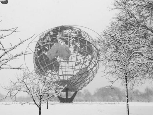 snowy-unisphere