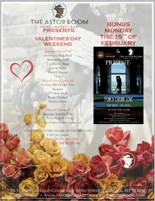 The Astor Room_Valentine's Day