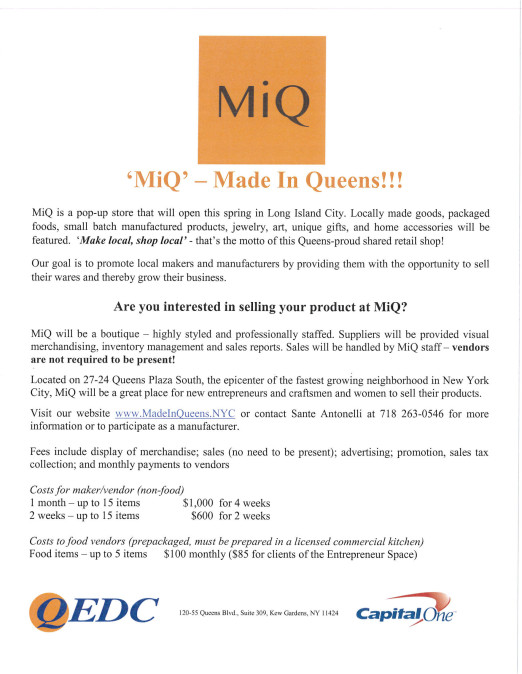 MiQ - Made In Queens!