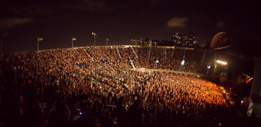 Forest Hills Stadium_Concert at Night
