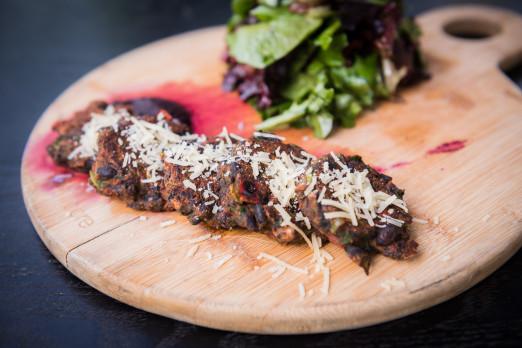 zucchini-cakes-No5-menu-tasting-we-heart-astoria-queens