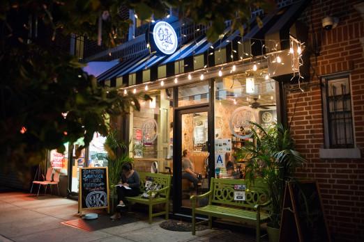 ok cafe _exterior of shop